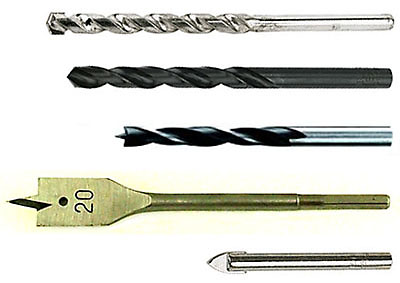 Diy Drilling And Fixing Drill Bits