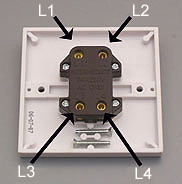 how to replace a light switch made easy light switch is used for switching a light from 3 or more locations in conjunction two way switches they have 4 terminals l1 l2 l3 l4