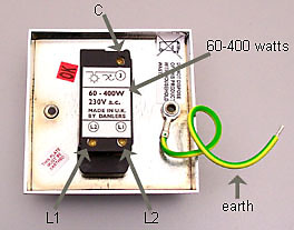 One Way Dimmer Switch Wiring Diagram: How to Replace a Light Switch with a Dimmer made easyrh:handymanknowhow.co.uk,Design