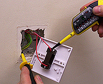 how to replace a light switch made easy rh handymanknowhow co uk light switch wiring diagram l1 l2 light switch wiring diagram l1 l2