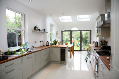 Advice on planning a kitchen extension for Garden rooms finance
